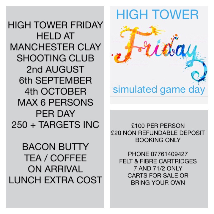 High Tower Friday Simulated Game Day